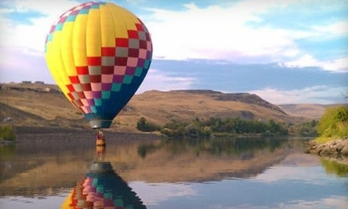Adventurist Air Voyages - Lewiston: $139 for a Hot Air Balloon Adventure with a Wine Tasting from Adventurist Air Voyages in Lewiston ($278 Value)