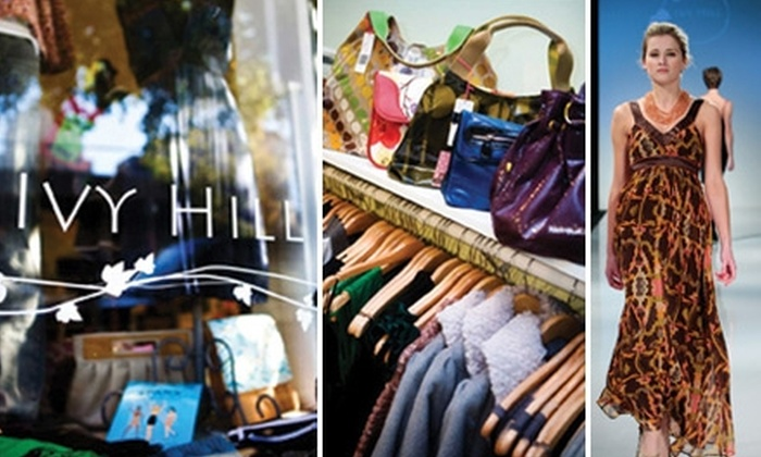 Ivy Hill Boutique - Central West End: $40 for $85 Worth of Women's Clothing and Accessories at Ivy Hill Boutique