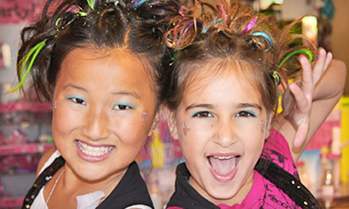 Sweet & Sassy - Multiple Locations: Ear Piercing, Girls' Makeover Package, or Fashion-Diva Party at Sweet & Sassy (Up to 53% Off)