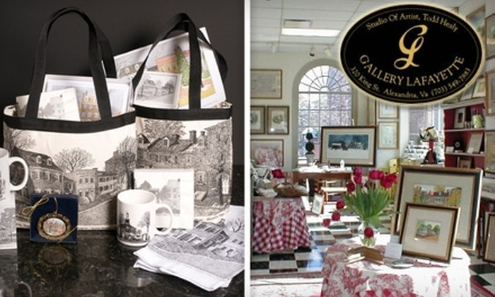 Gallery Lafayette - Old Town: $30 for $60 Toward Custom Framing and Gifts at Gallery Lafayette