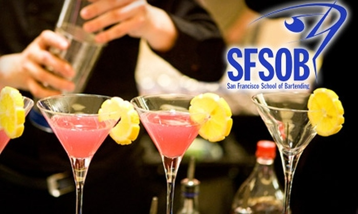 San Francisco School of Bartending - Mission: $80 for a Mixology Class from the San Francisco School of Bartending