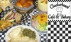 Checkerboard Café and Bakery - Midwest City: $10 for $20 Worth of Cozy Café Fare and Drinks at Checkerboard Café and Bakery