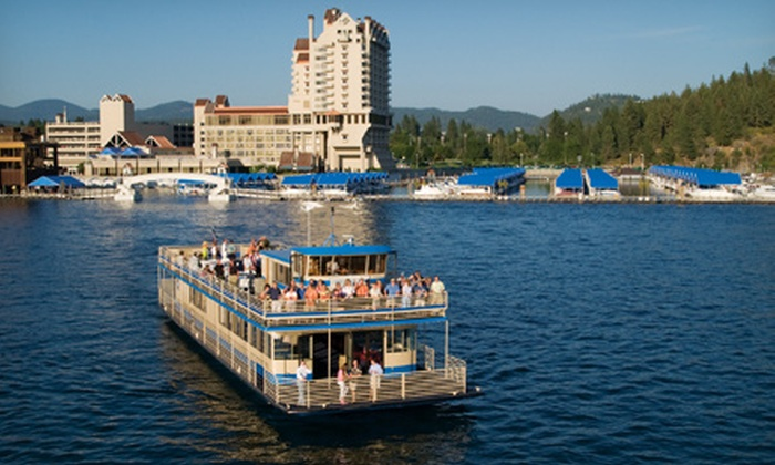 Lake Coeur d'Alene Cruises - Coeur d'Alene: Journey to the North Pole Cruise for Two or Four from Lake Coeur d'Alene Cruises (Up to 50% Value)