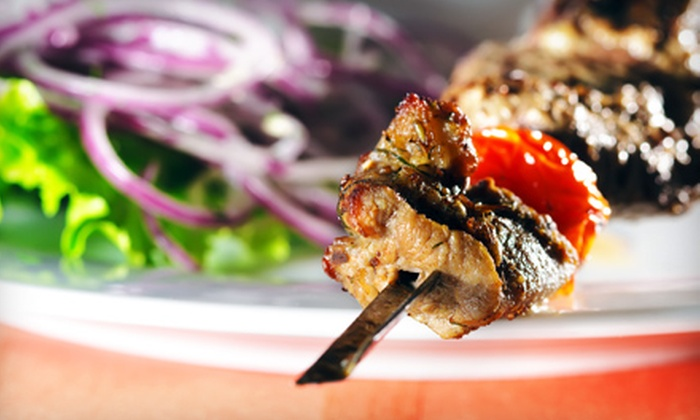 Safir Mediterranean Cuisine - Woodland Hills: $24 for Persian Meal with Wine for Two at Safir Mediterranean Cuisine in Woodland Hills (Up to $52.85 Value)