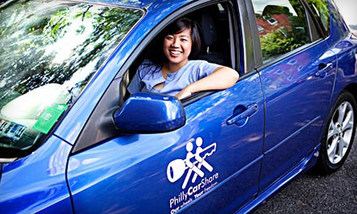 PhillyCarShare: $35 for One-Year Keystone Membership and $50 Driving Credit to PhillyCarShare ($110 Value)