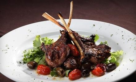 $40 Groupon to Saffron Moroccan Cuisine - Saffron Moroccan Cuisine in Houston