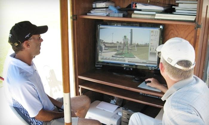 Burlingame Golf Center  - Burlingame: $60 for One-Hour Adult Golf Lesson with PGA Instructor David Atchison at Burlingame Golf Center ($125 Value)