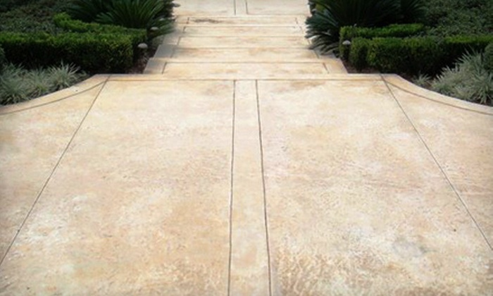 Nickel City Concrete, LLC - East Aurora: Up to 200, 500, or 1,000 Square Feet of Concrete Cleaning and Sealing from Nickel City Concrete LLC (Up to 59% Off)