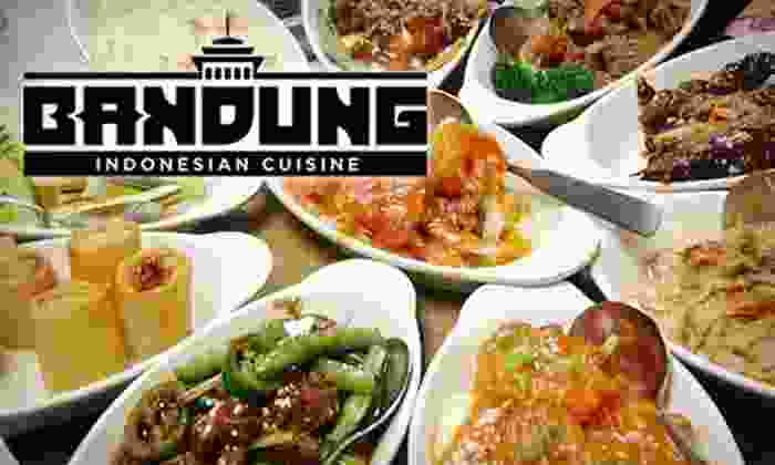 Bandung Indonesian Restauarant - Marquette: $15 for $30 Worth of Indonesian Cuisine and Drinks at Bandung Restaurant