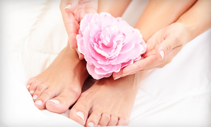 Salon Dragonfly - Asheville: $32 for Mani-Pedi at Salon Dragonfly (Up to $65 Value)