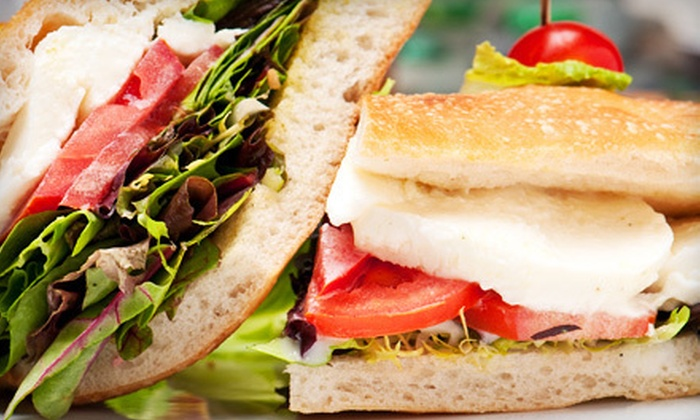 Main Street Coffee and Deli - Central Business District: Three Coffee Drinks, Deli Sandwiches for Two, or $5 for $10 Worth of Deli Fare at Main Street Coffee and Deli