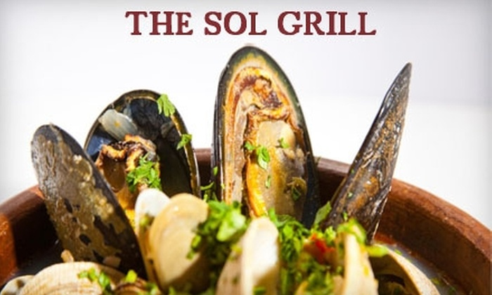Sol Grill - Newport Beach: $12 for $25 Worth of American Fare and Drinks at Sol Grill in Newport Beach