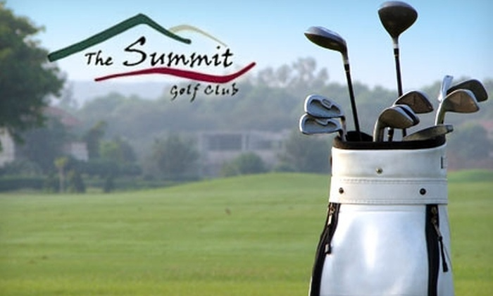 The Summit Golf Club - Cannon Falls: $104 for an 18-Hole Round of Golf with Golf Cart for Four at The Summit Golf Club (Up to $208 Value)