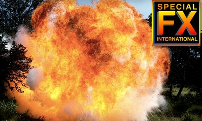 Special FX International - Dripping Springs-Wimberley: $125 for Special Effects and Pyrotechnics Workshop with Special FX International