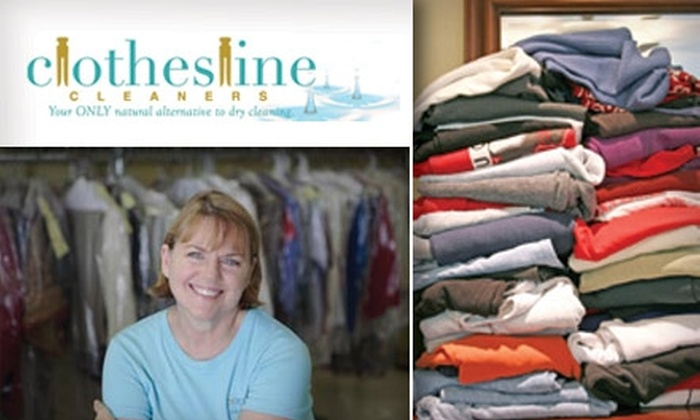 Clothesline Cleaners - Multiple Locations: $10 for $25 Worth of Environmentally Friendly Dry Cleaning at Clothesline Cleaners