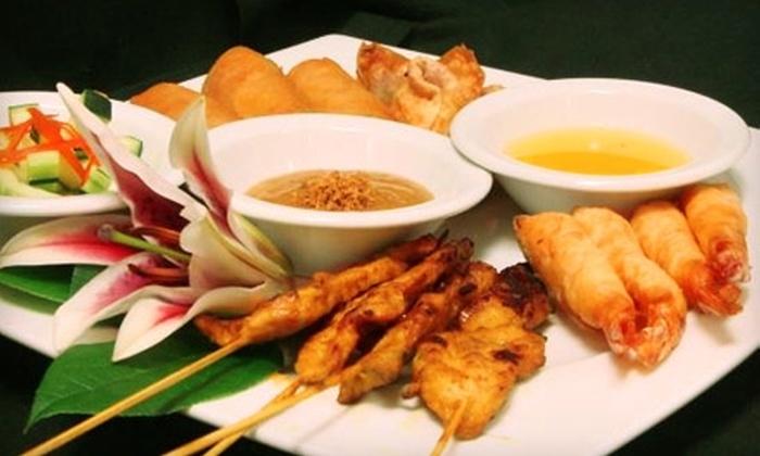 Thai Bistro - Memphis: $10 for $20 Worth of Southeast Asian Fare and Drinks in Cordova