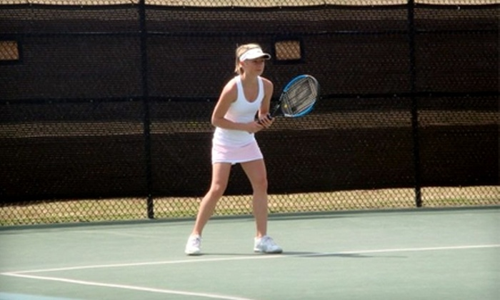 Oklahoma City Tennis Center - Grand Portland: $40 for Five-Day Tennis Camp at Oklahoma City Tennis Center (Up to $80 Value). Two Class Levels and Multiple Dates Available.