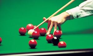 Snookerclub-hamburg: 4 Stunden Snooker-Abend für Zwei oder Vier inkl. 1 Drink im Snookerclub-Hamburg ab 14,90 € (bis zu 54% sparen*)
