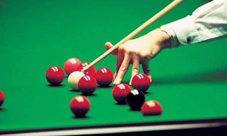 4 Stunden Snooker-Abend für bis zu 4 Personen inkl. 1 Erfrischungsgetränk im Snookerclub-Hamburg