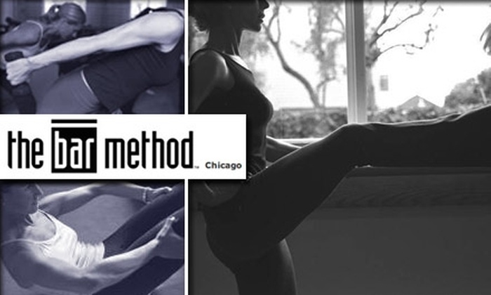 Bar Method - Chicago - Multiple Locations: $20 for Two Fitness Classes at The Bar Method ($40 Value)