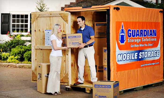 Guardian Storage Solutions - Multiple Locations: $59 for Three Months of Standard Self or Mobile Storage from Guardian Storage Solutions (Up to 79% Off)