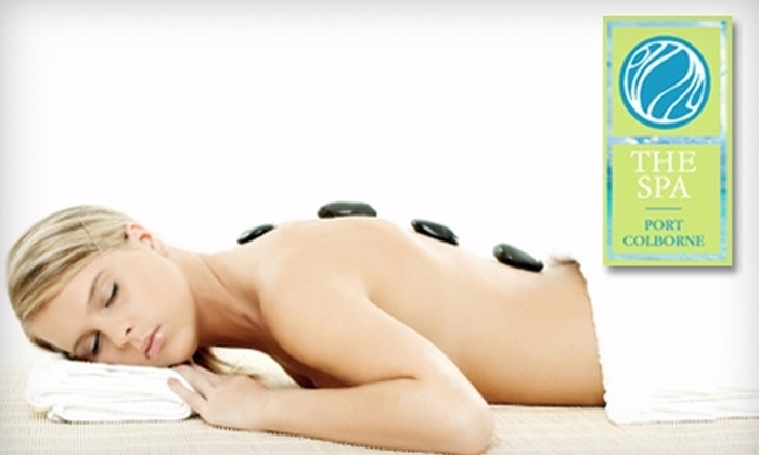 The Spa Port Colborne - Port Colborne: $42 for a One-Hour Hot Stone Massage at The Spa Port Colborne ($84.75 Value)