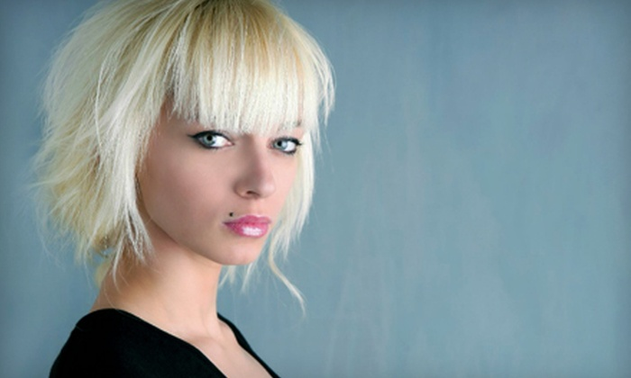 Hair We Go Studio - Hair We Go Studio: Haircut and Color Packages at Hair We Go Studio in Owings Mills (Up to 64% Off). Three Options Available.