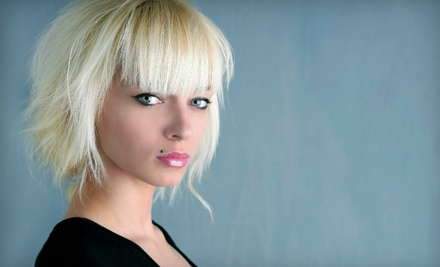 Cut, Blow-Dry, and Style (a $65 value) - Hair We Go Studio in Owings Mills