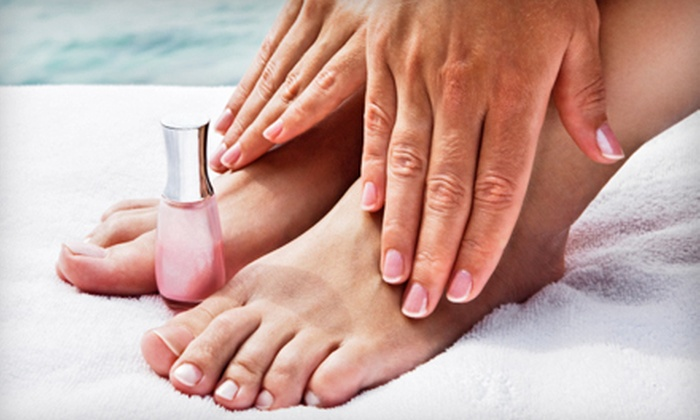 999 Nail and Skin Care - San Diego: $20 for Manicure and Spa Pedicure at 999 Nail and Skin Care (Up to $40 Value)