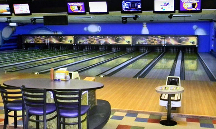 Chipper's Lanes - Multiple Locations: Bowling Outing Including Shoe Rental, Snacks, and Drinks for Two or Four at Chippers Lanes
