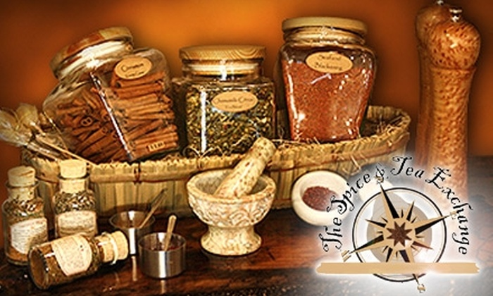 The Spice & Tea Exchange - Spanish Quarter: $5 for $10 Worth of Sugars, Spices, and Teas at The Spice & Tea Exchange in St. Augustine