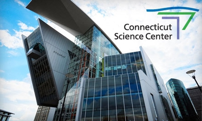 Connecticut Science Center - Downtown: $11 for One Admission and a 3-D Movie at the Connecticut Science Center (Up to $22 Value)