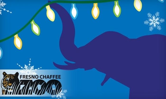 Fresno Chaffee Zoo In Fresno California Groupon
