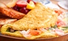Bistro Burgers and Kabbobs - Bethlehem: Mediterranean Breakfast, Lunch, or Dinner for Two or Four at Bistro Burgers & Kabobs in Bethlehem (Up to 59% Off)