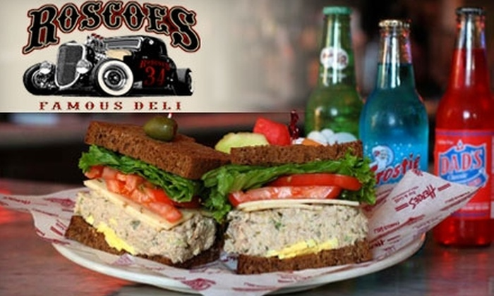 Roscoe's Famous Deli - Chino Hills: $8 for $16 Worth of Deli Eats at Roscoe's Famous Deli in Chino Hills