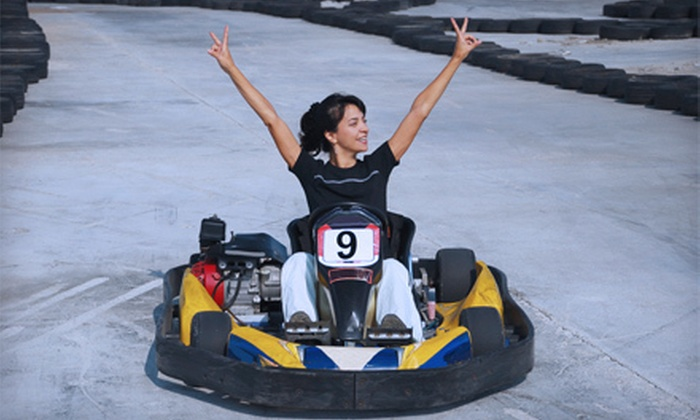 Canastota Kart Speedway - Lenox: Five-Minute Go-Kart Races for One or 50-Lap Races for Two at Canastota Kart Speedway (Up to Half Off)