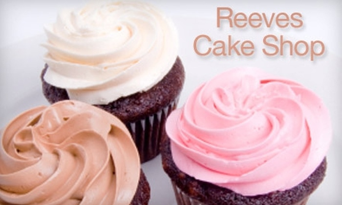 Reeves Cake Shop - Kenmore: $4 for a Dozen Unfilled Cupcakes ($9 Value) or $6 for a Dozen Filled Cupcakes ($12 Value) from Reeves Cake Shop