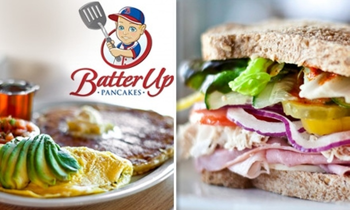 Batter Up Pancakes - Fig Garden Loop: $8 for $20 Worth of Home-Cooked Breakfast at Batter Up Pancakes