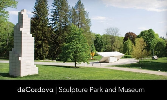 deCordova Sculpture Park and Museum - Lincoln: One-Year Membership to deCordova Sculpture Park and Museum. Choose Between Two Options.