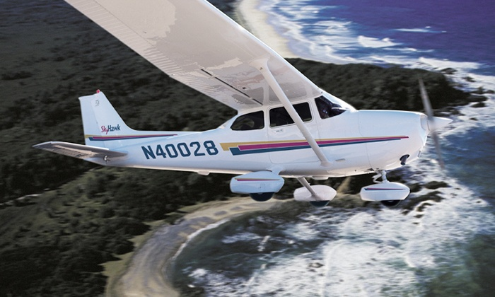 Wings Flying Club - Georgetown: Introductory Flight Lesson for One or Two, or an Introductory Flight Package from Wings Flying Club (Up to 58% Off)