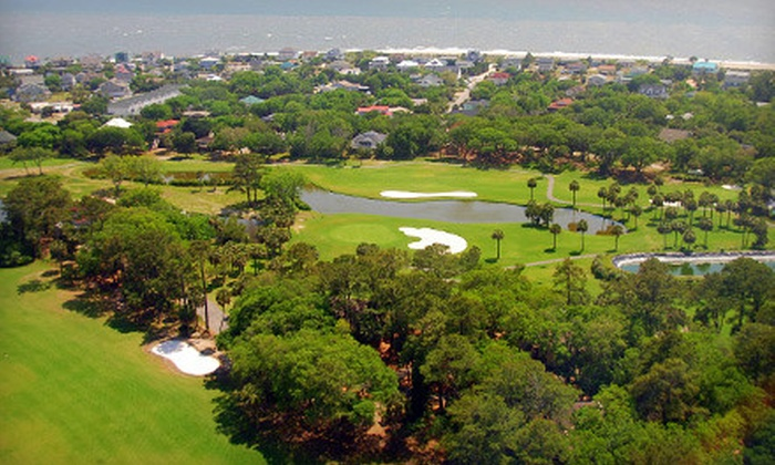 The Plantation Course at Edisto - Edisto Beach: Golf Outing with Cart Rental for Two or Four at The Plantation Course at Edisto in Edisto Beach (Up to 58% Off)