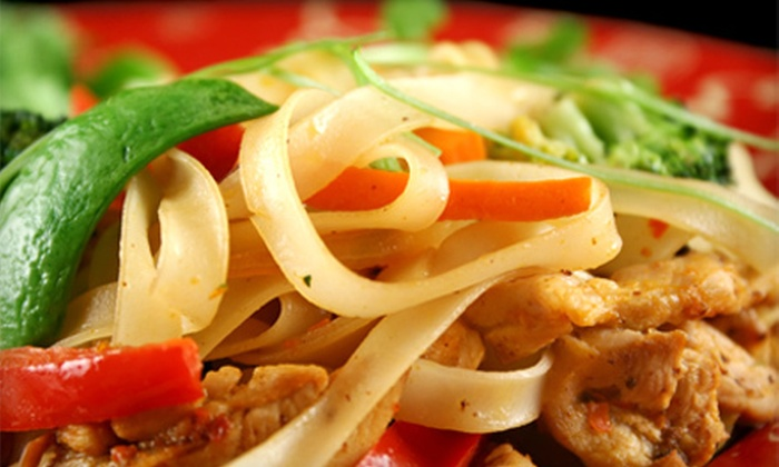 Erawan Thai Cuisine Chinatown - Center City East: Dinner for Two or More or Four or More at Erawan Thai Cuisine Chinatown (Up to 54% Off)