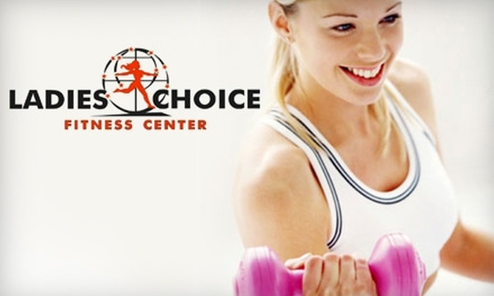 Ladies Choice Fitness Center - Multiple Locations: $10 for a One-Month Membership at Ladies Choice Fitness Center ($59 Value)
