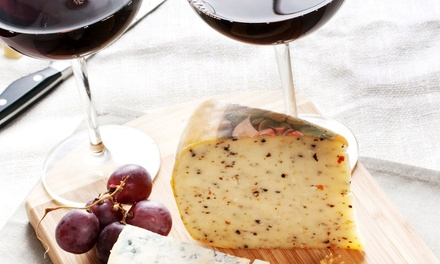 Wine Tasting and Cheese Platter for Two, Four, or Six at Nuyaka Creek Winery (53% Off)