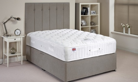 Ortho Luxury Divan Set With 30cm Deep Mattress from £199.99 With Free Delivery (Up to 57% Off)