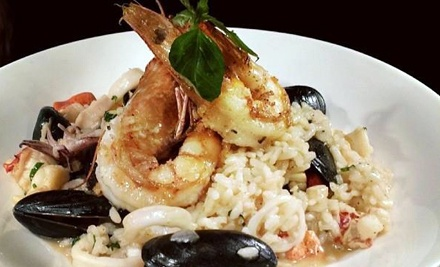 Mediterranean Dinner for Two or Four at La Rosetta Cucina Mediterranea (Up to 52% Off)
