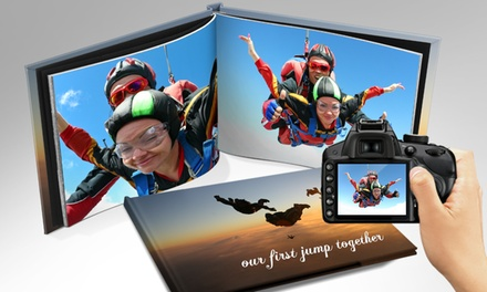Personalized Photo Book with Free Shipping from Printerpix. Multiple Sizes Available from $8.99—$14.99.