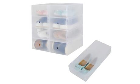 Hasta 30 cajas transparentes para zapatos