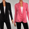 Women's Crisscross Draped Cardigan