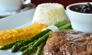 Rio Grill: Brazilian Steakhouse Lunch or Dinner for Two or Four at Rio Grill (Up to 40% Off)